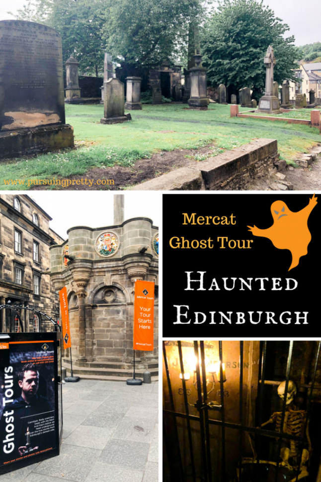 Haunted Edinburgh - The must-do Ghost Tour of the Edinburgh Vaults and Cannongate Cemetary with Mercat Tours