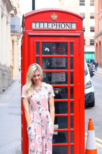 Instagrammable London, UK -Telephone Booth - traveling in London