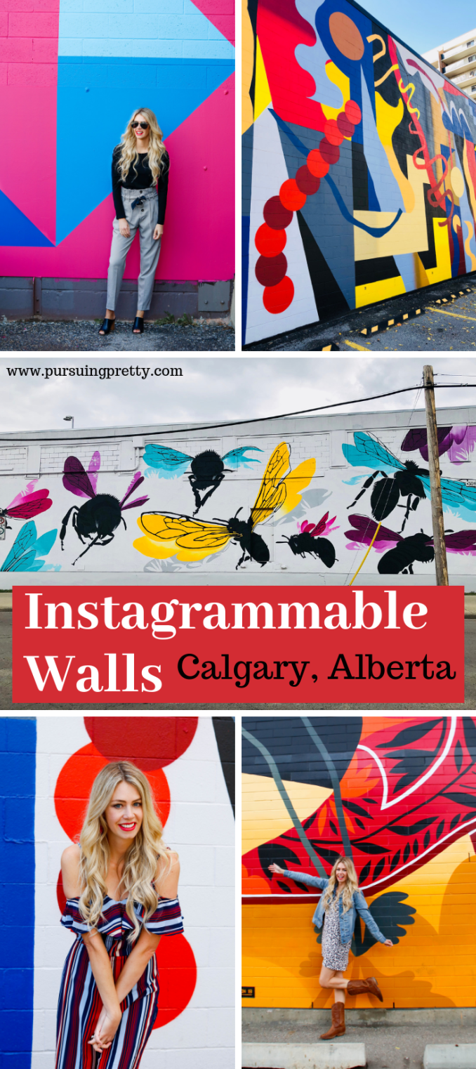 BUMP Initiative in YYC - Calgary, Alberta Instagrammable Walls