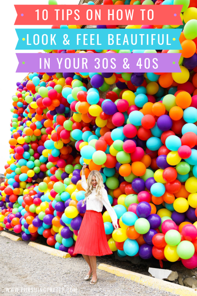 10 Tips Revealed - How To Look & FEEL Good in Your 30s & 40s