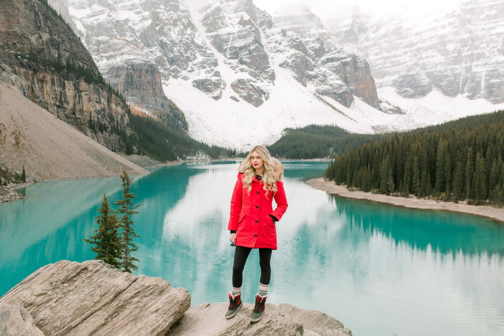 Bucket List Travel Destination: Moraine Lake, Alberta, Canada -photography in fall