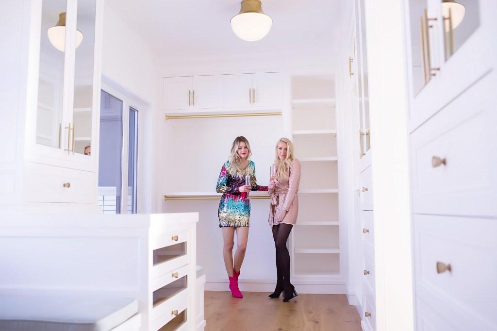 Dream walk-in closet! Build your dream home with Wolf Custom Homes in Watermark, Calgary, Alberta