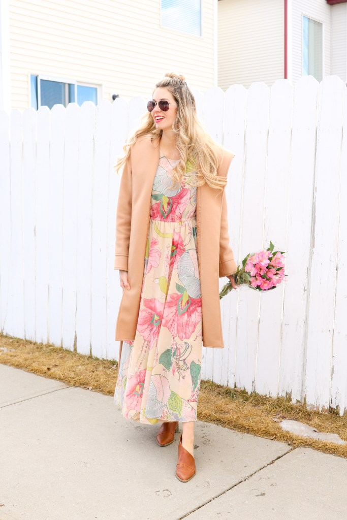 Spring style transition: one dress, two ways! #style #fashion #spring #lookbook #ootd #outfits