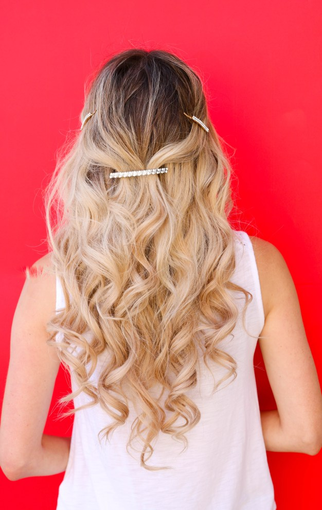 Hair Barrette Trend! How to wear it 5 different ways! Hairstyle ideas for spring 2019.