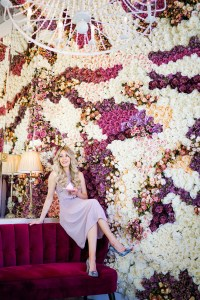 Instagram Walls Calgary - flower wall - bakery - Finesse Desserts