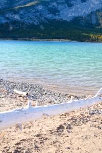 Barrier Lake, Kananaskis, Alberta - bucket list travel - turquoise water