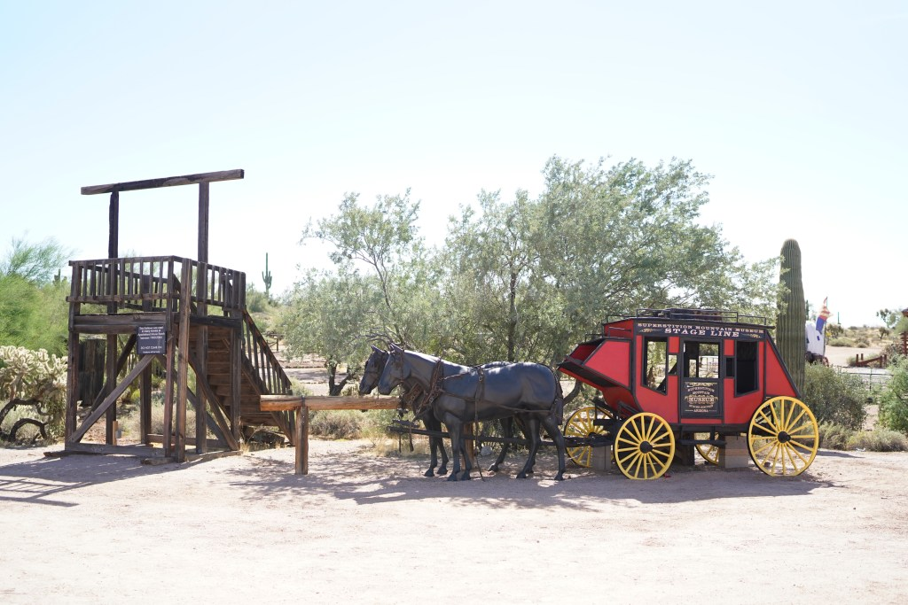 Lost Dutchman Museum - Apache Trail - Superstition Mountain town