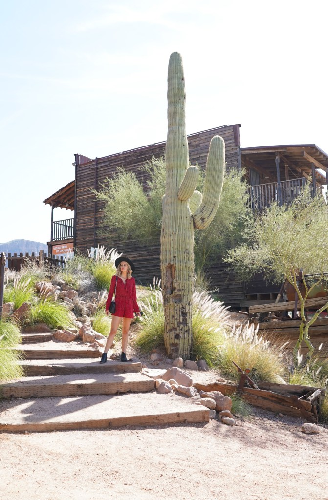 Goldfield Ghost Town in Arizona - western town tourist experience -travel in Pheonix