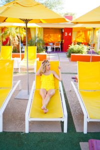 Kiwi Elite Swimwear- Yellow ruffle one-piece bathing suit - what to pack for vacation - pretty bathing suit