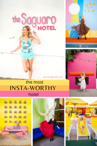 The MOST INSTAGRAM WORTHY HOTEL in the USA : The Saguaro Scottsdale - see the best places to take photos - Insta-worthy hotel in Arizona #instagram #travel #colour #photography #arizona