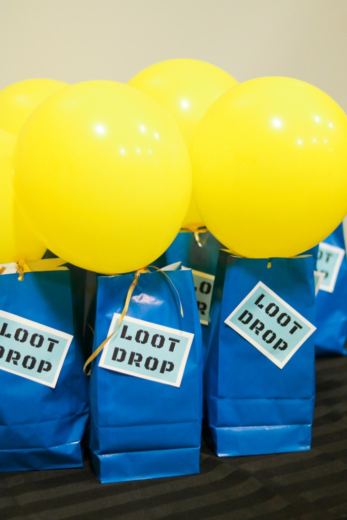 Fortnite Loot Bag Ideas - Loot Drop with free printable labels