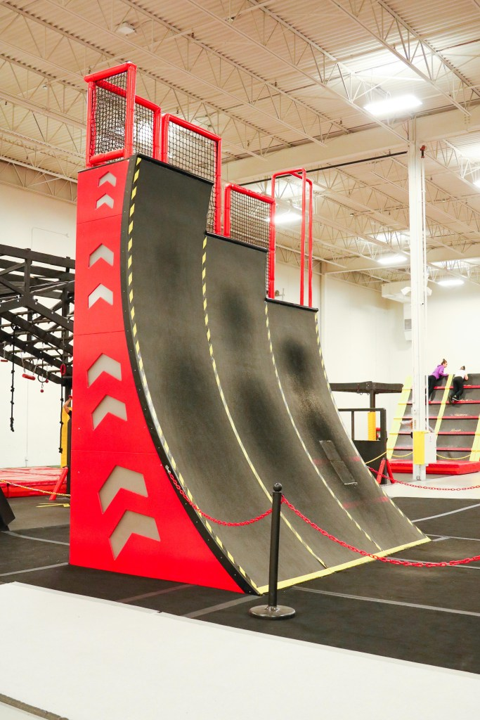 Indoor Parkour course in Calgary