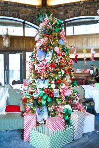 Christmas Decor at the Fairmont Banff Springs