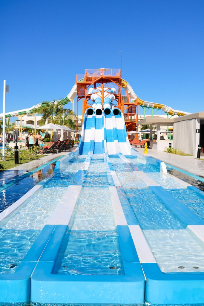 The Grand at Moon Palace - water slides