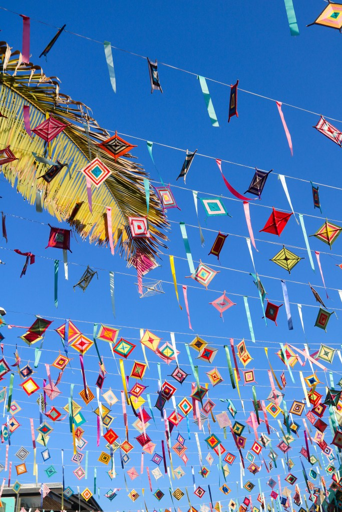 Sayulita Kites and Flag Garland called papel picado