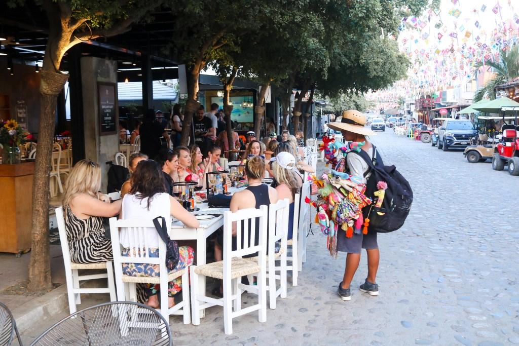 Street dinner in Sayulita