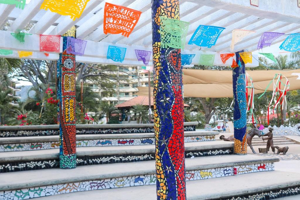 Tile Mosaic Park in Puerto Vallarta