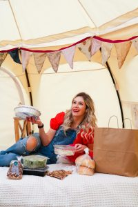 Glamping in Calgary - the ultimate backyard food and accommodation experience