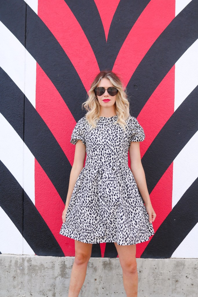 2020 fashion must-have: puff sleeve leopard mini dress #style #trends #trendingnow #fashion #2020 #ootd #outfitoftheday