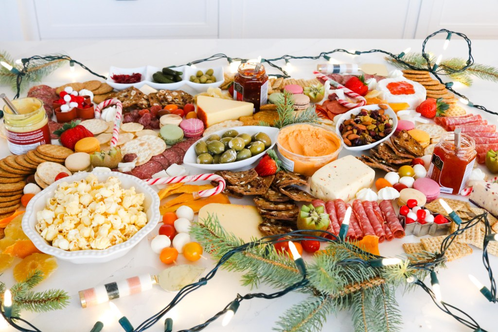 Great Christmas Charcuterie Ideas! Easy to create!