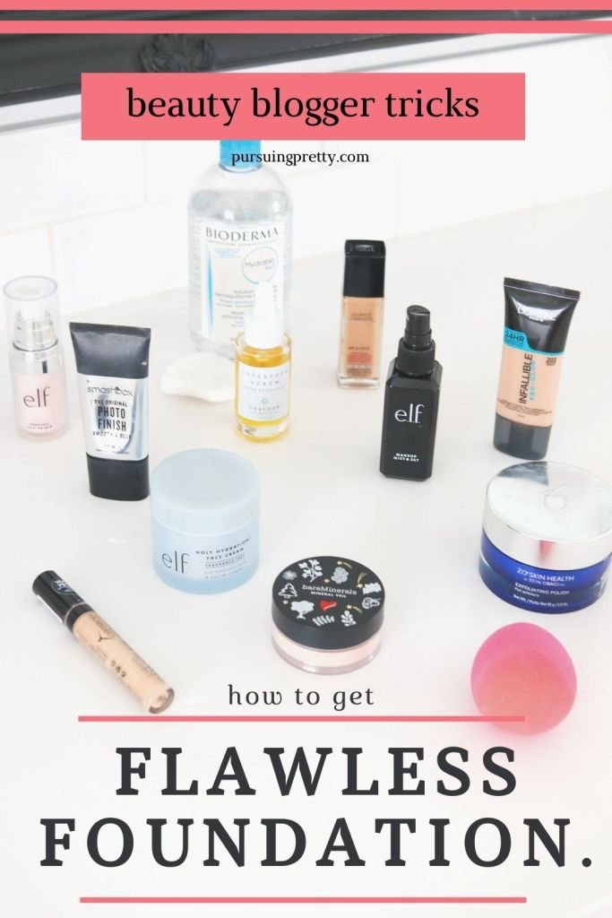 Flawless Foundation Application Tips - how to create a healthy, natural glow that lasts all day long!
