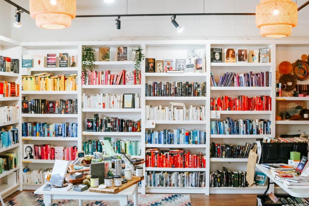 Evexia Cochrane used book store - cutest book store in Calgary, Alberta
