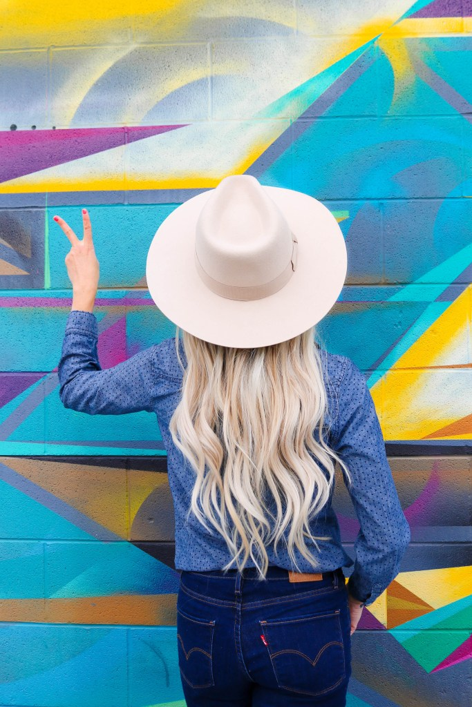 Urban Outfitter Flat Brim Felt Fedora - wardrobe must have hat!