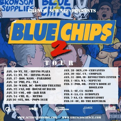 Action Bronson Blue Chips 2 Tour