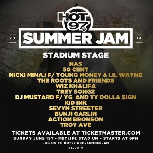 Hot97 Summer Jam 2014
