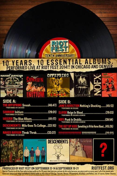 Riot Fest 10th Anniversary