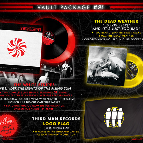 Jack White - Vault Package