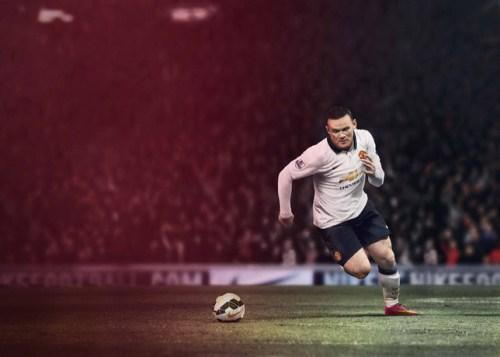 Manchester United 2014-15 Away Kit Rooney