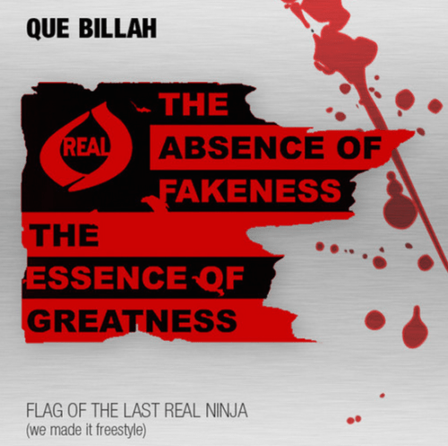 Que Billah Flag Of The Last Real Ninja