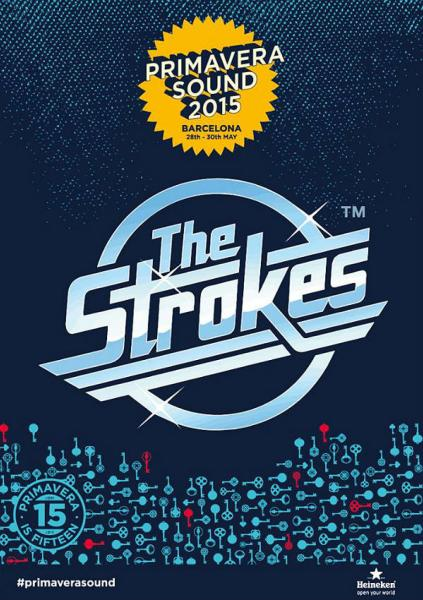 The STROKES_PRIMAVERA_2015
