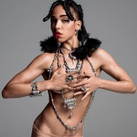 FKA Twigs & Tinashe Pose Topless for V Mag