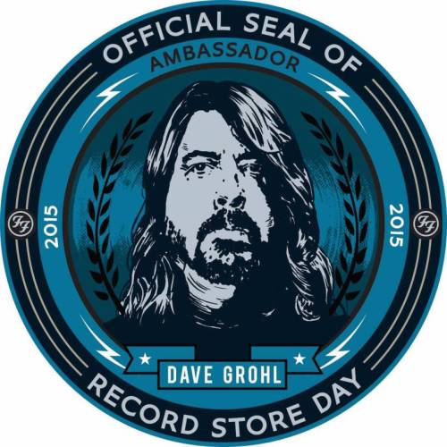 Dave Grohl Record Store Ambassador
