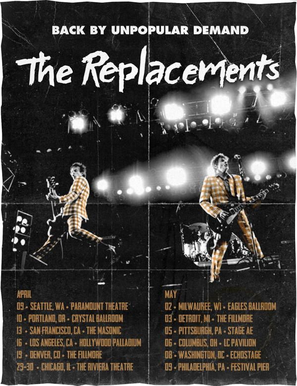 The Replacements 2015 Tour