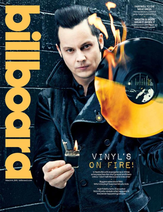 Jack White March 2015 Billboard Cover