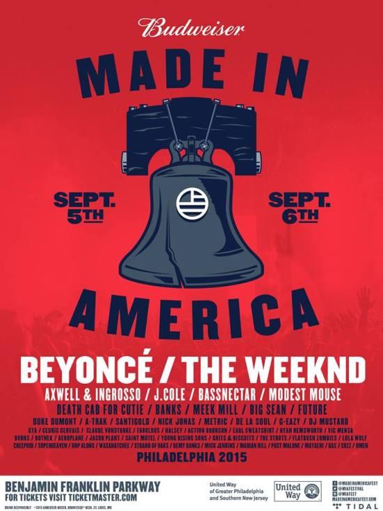 Made In America 2015