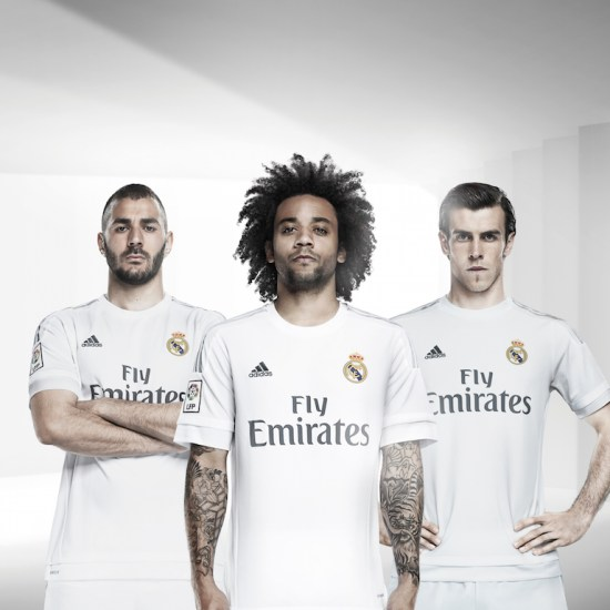 Real Madrid 2015-2016 Home Kit