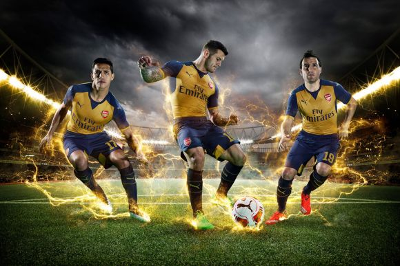 PUMA-Launches-the-2015-16-Arsenal-Away-Kit_Sanchez_Wilshere_Cazorla