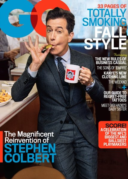 Stephen Colbert GQ Cover