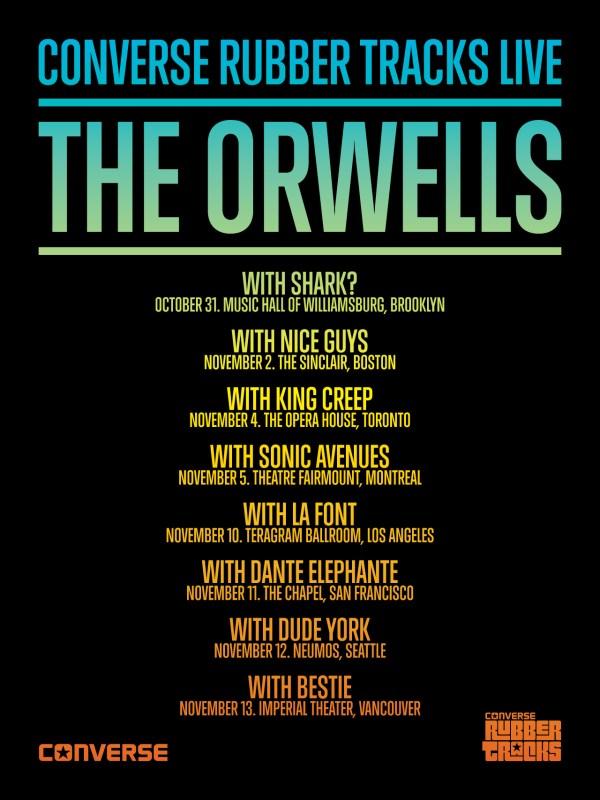 The Orwells Converse Tour