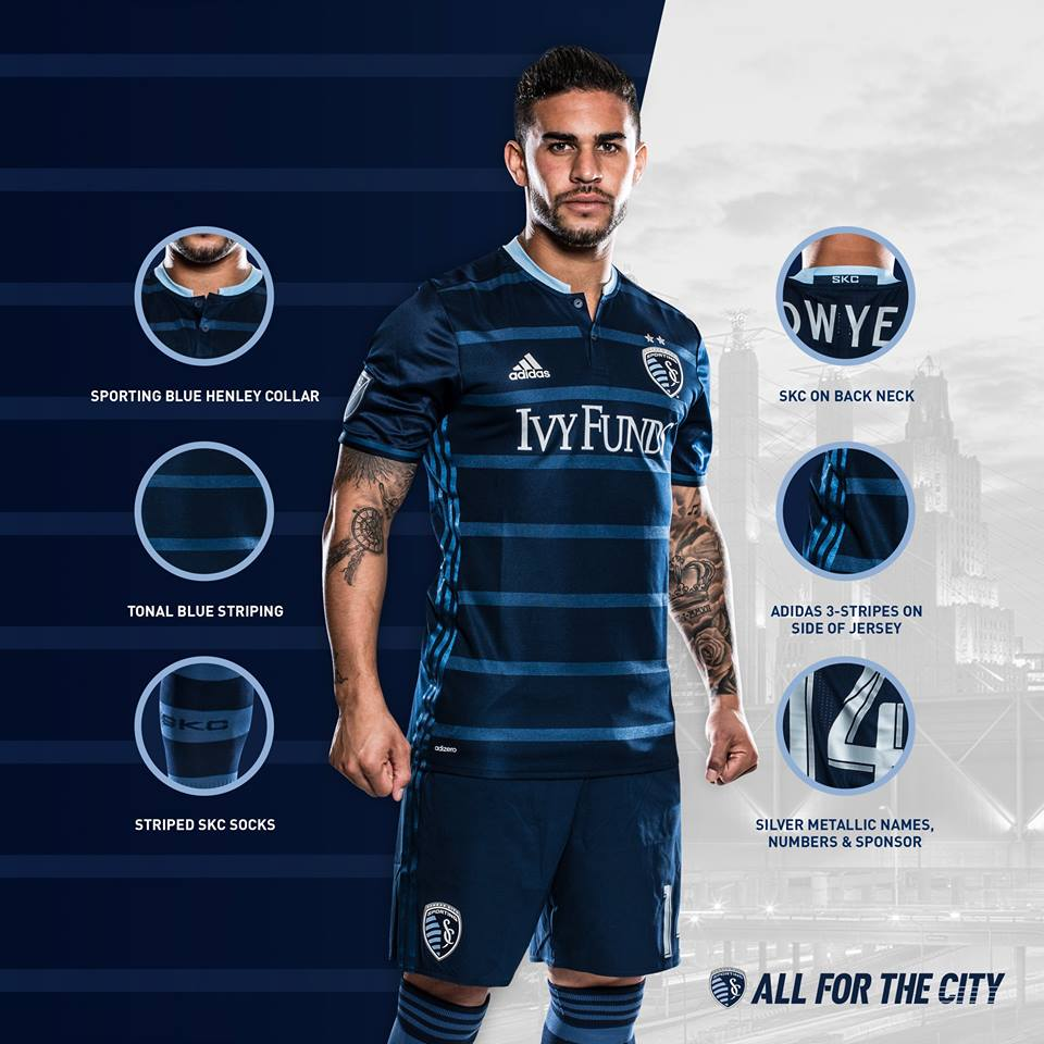Sporting Kansas City 2016 Secondary Jersey