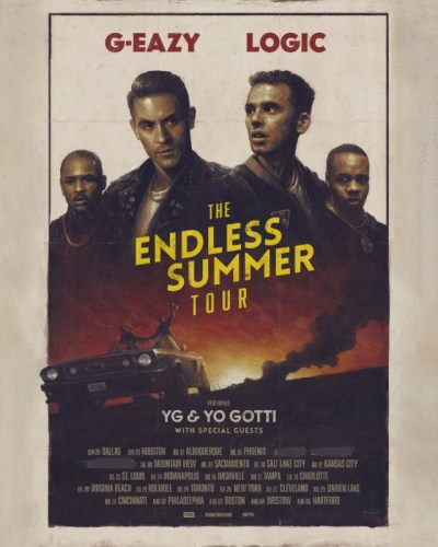 G-Eazy Logic The Endless Summer Tour