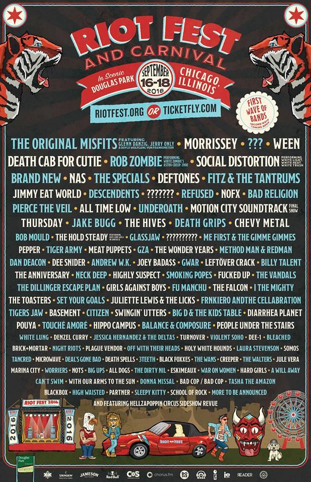 Riot Fest Chicago 2016