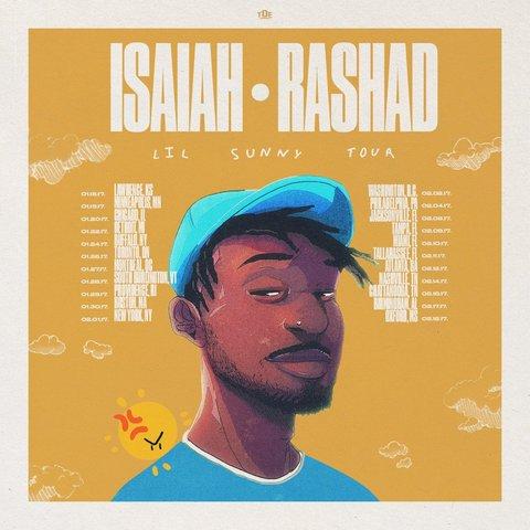 isaiah-rashad-lil-sunny-tour