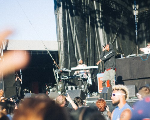Joey Badass on the Rise Stage