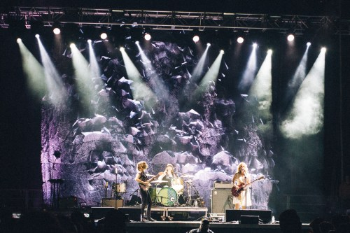 Sleater Kinney on the Rock Stage