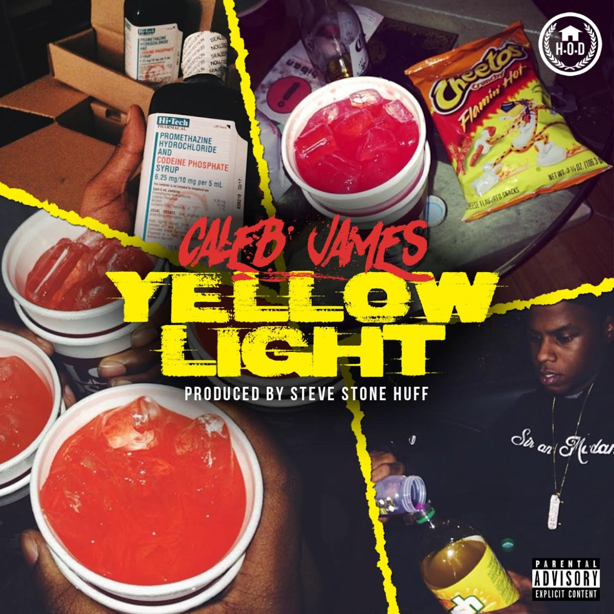 "Caleb James - ""Yellow Light"""